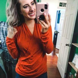 The Limited Burnt Orange Sweater Medium